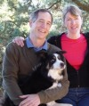 Kate, David and Bo (Super Agility Dog) Marshall